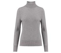 Damen Rollkragen-Pullover, grau