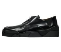 Herren Schnürschuhe, schwarz