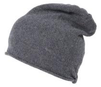 Damen Beanie-Mütze, grau