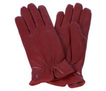 Damen Handschuhe aus Leder, Rot