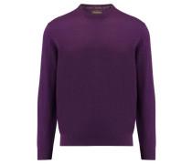 Herren Kaschmir-Pullover, purple