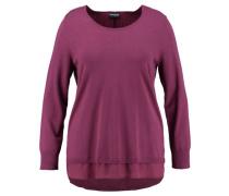 Damen Pullover - Plus Size, plum