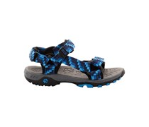 Jack Wolfskin: Boys Outdoor Sandale Seven Seas, blue