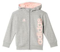 Mädchen Trainingsjacke, Grau
