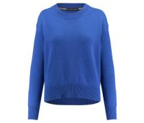 Damen Kaschmir-Pullover, Blau