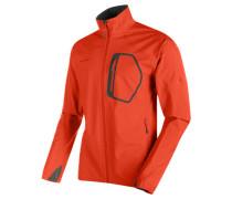 "Herren Softshelljacke ""Ultimate Light Jacket Men"", orange"