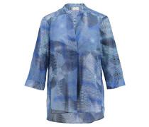Damen Bluse 3/4-Arme, Blau