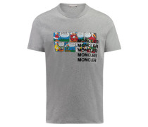 Herren T-Shirt, stein