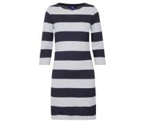 Damen Jerseykleid Sailor Dress, Grau
