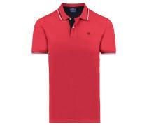 Herren Poloshirt, rot