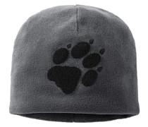"Fleecemütze ""Paw Hat"", grau"