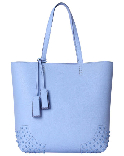 "Damen Shopper ""Wave"", bleu"
