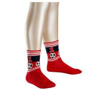 Kinder Socken Soccer, Rot