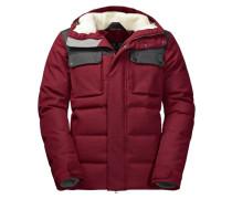 Herren Daunenjacke Banff Springs Jacket, Rot