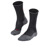 "Herren Trekking Socken ""TK2 Wool Silk"", anthrazit"