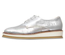 Damen Schnürschuhe, Silber