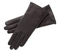 Damen Handschuhe aus Leder, Braun