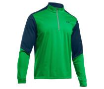Herren Golfshirt UA Storm Elemental Langarm, Grün