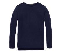 Herren Pullover, Blau