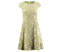 Damen Kleid Kurzarm, oliv