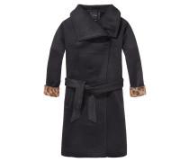 Damen Mantel, schwarz