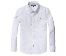 Jungen Baby-Hemd Solid Oxford Langarm