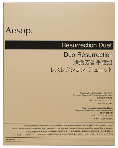 "Handpflegeset ""Resurrection Duet"" -  ""Resurrection Aromatique Hand Wash"" und ""Resurrection Aromatique Hand Balm"""