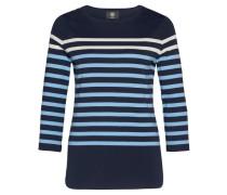 Damen Shirt Louna Dreiviertelarm, Blau