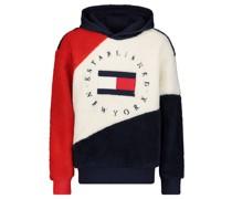 """Sweatshirt """"Colourblock Teddy"""" mit Kapuze"""