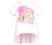 Mädchen T-Shirt, Weiß