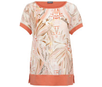 Damen T-Shirt, Orange