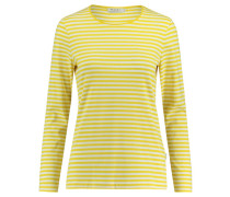Damen Shirt Langarm, Gelb