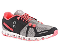 Damen Laufschuhe On The Cloud grey/neon-pink