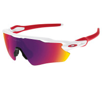 Sportbrille / Sonnenbrille Radar EV Path polished white / prizm road