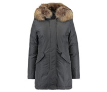 Damen Daunenparka Luxury Artic, Grau