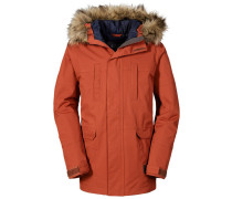 Boys Jacke Travis Winter Parka, Braun