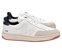 """Herren Sneakers """"V-12"""", weiss"""