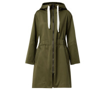 "Damen Parka ""Surprising Collage"", oliv"