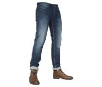 Herren Jeans Nightflight Slim Fit, Blau