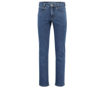 "Herren Jeans Comfort Fit ""Freddy"", stoned blue"