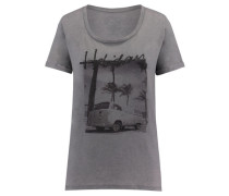 Damen T-Shirt Holiday, Grau