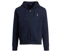 Herren Sweatshirtjacke, Blau