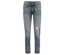 Damen Boyfriend-Jeans Midge Saddle Boyfriend, Blau