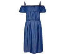 Damen Trägerkleid, Blau