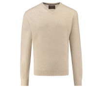 Herren Kaschmir-Pullover, sand