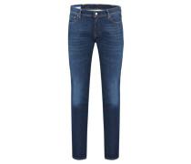 Herren Jeans Slim Fit, darkblue