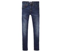 Jungen Baby-Jeans Scanton Slim Slim Fit, Blau