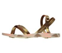 Girls Zehentrenner Fashion Sand IV, Gold
