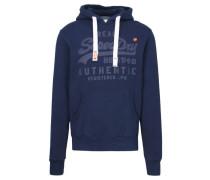 "Herren Sweatshirt mit Kapuze ""Vintage Authentic Tonal Hood"", marine"