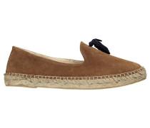 Damen Slipper/Loafer Pom Pom Gr. 39